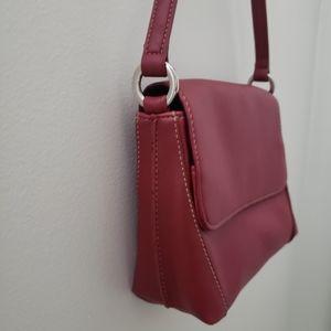 3/$30 Burgundy Nine West bag